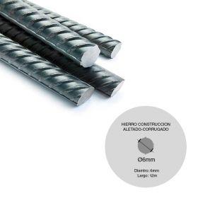 HIERRO CONSTRUCCION D6MM BARRA X12M