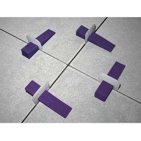 Cuña niveladora piso y revestimiento bolsa x 150u
