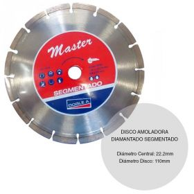 DISCO DIAMANTADO SEGMENTADO 115MM