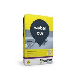 Mortero reparacion hormigon capa gruesa Weber Dur gris bolsa x 25kg