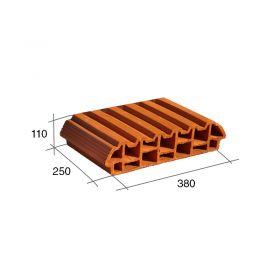 Ladrillo losa ceramico Celerlosa 110mm x 250mm x 380mm