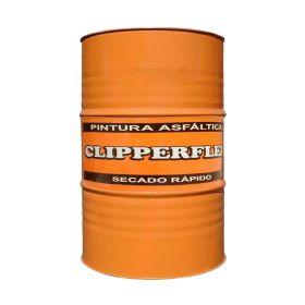 Pintura asfaltica Clipperflex impermeable base solvente secado rapido tambor x 200l