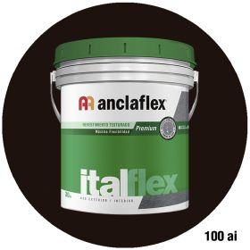 Revestimiento plastico texturado Italflex textura mediana 100ai balde x 30kg