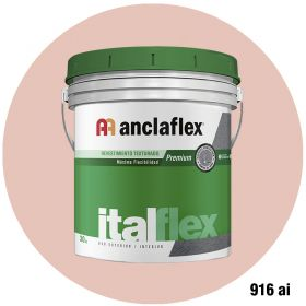 Revestimiento plastico texturado Italflex textura mediana 916ai balde x 30kg