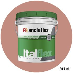 Revestimiento plastico texturado Italflex textura mediana 917ai balde x 30kg